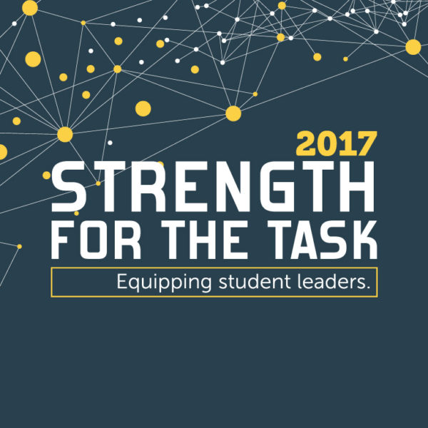 Strength For The Task 2017 Event Graphic